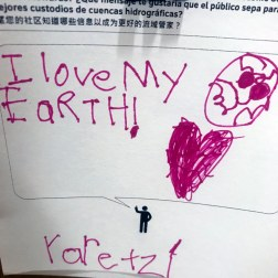 YARETZI LOVES HIS EARTH